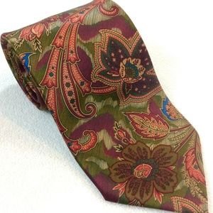 Men's Pierre Cardin 100% Silk Paisley Necktie